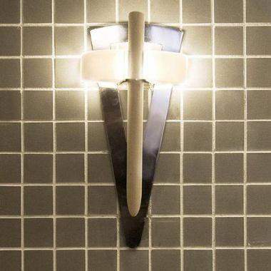 Светильник Факел в баню и сауну