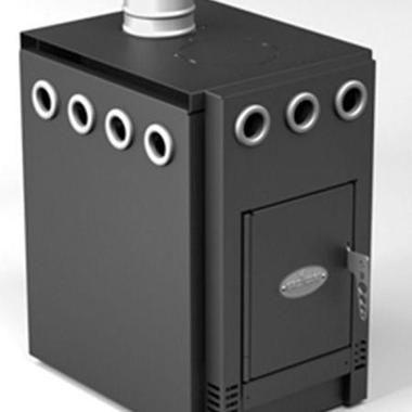 Металічна опалювально-варильна піч ГрейВарі 1.100