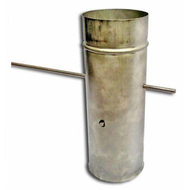 Кагла (шибер) для дымохода печи в баню
