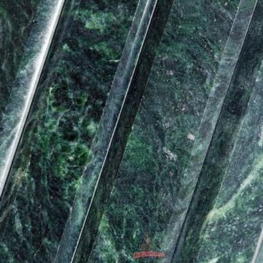 Фасад Ламель для печи Ферингер в облицовке из змеевика