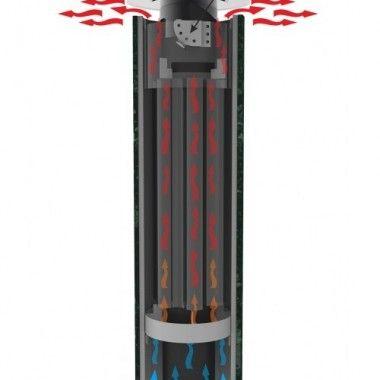 Дымоход - конвектор стартовый