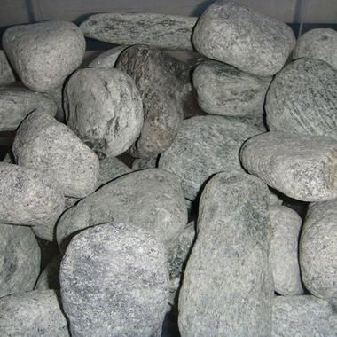 Каміння в лазню Талько-хлорит (шліфований)