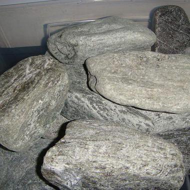 Каміння для сауни або лазні - Талько-хлорит (овалований)