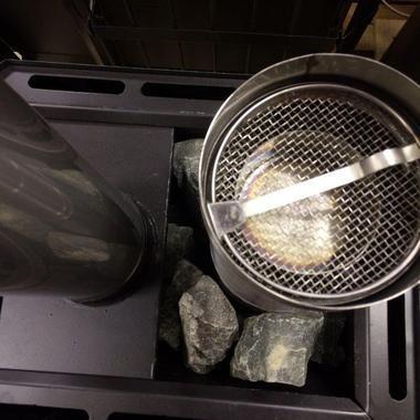 Фітоконтейнер для печей в Російської лазні
