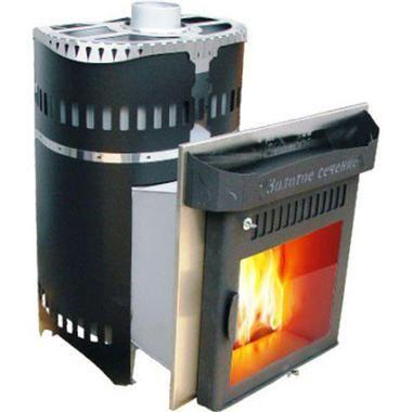 Печь для бани и сауны Классика Экран Золотое сечение от Ферингер