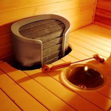 Электрическая печь для сауны Helo Cava DE