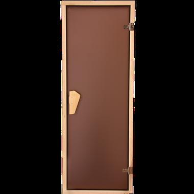 Двері для саун скляні Tesli (бронза)