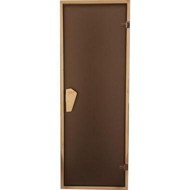 Двері для саун скляні Tesli Sateen