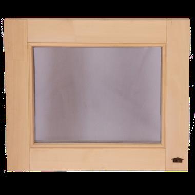 Tesli - глухой оконный блок для бани