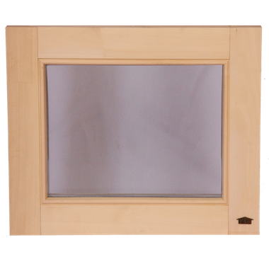 Вікно Tesli (глухе) для сауни та лазні