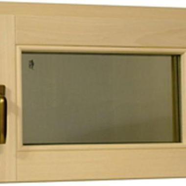 Tesli - поворотний віконний блок для сауни