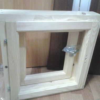 Вікна для сауни та лазні на замовлення